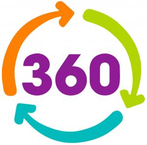 360 LOGO WHT BACK